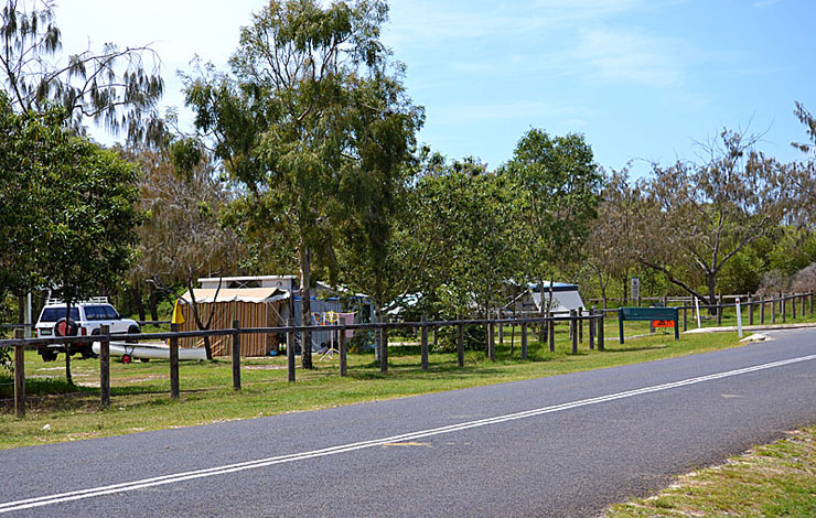 Inskip Point Camping Grounds